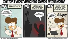 Tone Deaf » Most Annoying Things in the World