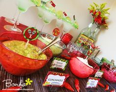 mexican themed party !!! How can you go wrong with margaritas!!