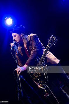 Jamie N Commons performs at El Rey Theatre on March 20, 2013 in Los Angeles, California.