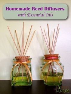 How To Make Reed Diffusers With Essential Oils | Health & Natural Living