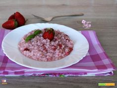 RISOTTO ALLE FRAGOLE  #ricette #food #recipes