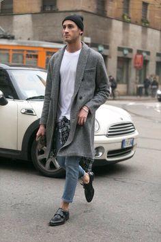 Men Street Style km Look Fashion, Winter Fashion, Mens Fashion, Fashion Menswear, Street Fashion, Fashion Tips, Fashion Updates, Fashion Photo, Men Street