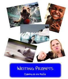 FREE Picture Writing Prompts {Great for those days when you want to squeeze writing in but don't have as much time!}
