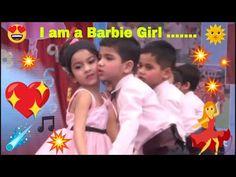 Barbie Girl Dance ǁ I am a Barbie Girl ǁ School Kids dance Barbie Girl Song, Aqua Barbie Girl, Christmas Dance, Girl Artist, School Kids, Girl Dancing, School Supplies, Songs