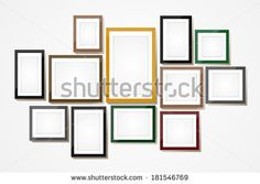stock-vector-picture-frame-vector-photo-art-gallery-on-vintage-wall-181546769.jpg 450×320 pixels
