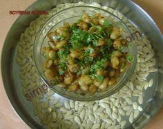 Soybean Sundal - Soya Bean Salad   Simple Indian Recipes