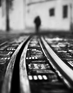 Going Away by João Cabral / Loft Wall, Room Posters, Going Away, Dark Photography, Great Shots, Railroad Tracks, Marvel, Wall Art, Black And White