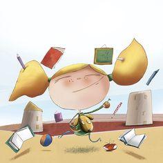 Ilustradora Marta Mayo June Illustration Ilustración Mayo, Illustration, Home Appliances, Illustrations, House Appliances, Appliances