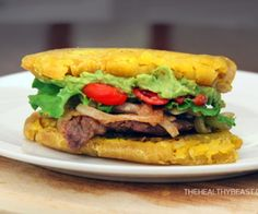 Jibaritos are a Puerto Rican tradition where bread is replaced by delicious friend plantains, making this sandwich gluten-free and paleo.