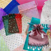 Grab Bag 10 Organza Bags Grab Bags, Organza Bags, Wedding Favors, Bridal Shower, Gift Wrapping, Prints, Color, Design, Wedding Keepsakes