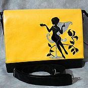 Авторский саквояж, авторская сумка, необычная сумка, оригинальная сумка, сумка на заказ