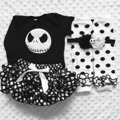 Must havw this! Nightmare Before Christmas/ Jack Skellington costume/First Halloween/Baby Jack/Baby Halloween /Pageant Future Daughter, Future Baby, My Baby Girl, Baby Love, Jack Skellington Costume, Gothic Baby, Christmas Baby Shower, First Halloween, Cute Baby Clothes