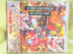 CD/Japan- ZUCCHERO SUGAR FORNACIARI Oro Incenso & Birra w/OBI RARE OOP 1989 #PopRock
