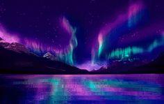 Colorful Aurora Borealis   AURORA BOREALIS FIRE RAINBOW by Aim4Beauty