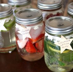 Detox Water Recipes- these detox waters are super easy to make, will keep you hydrated and flush out your liver.