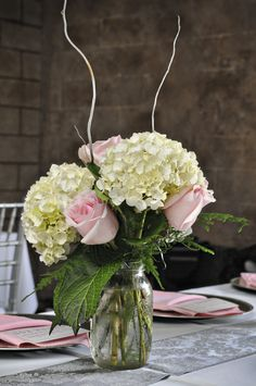 White and Pink Wedding Centerpieces - Silver and Pink Country Dade City Wedding – Barrington Hill Farm - CV Fuller Photography