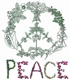 Think peace, help it grow!