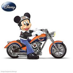 Figurines: Disney Mickey And The Chicago Bears Figurine Collection