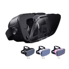 Virtual Reality Glasses - Compatible with all smartphones - Iphone 5s, Google Vr, Vr Box, Virtual Reality Glasses, 3d Video, 3d Glasses, Samsung, All Smartphones, Gaming Accessories