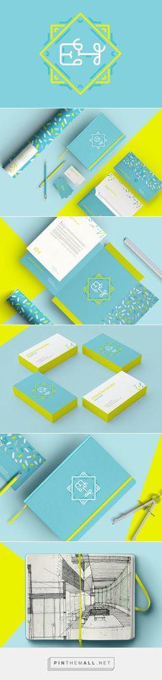 EH Arquitectura Lizzy Cantu on Behance | Fivestar Branding