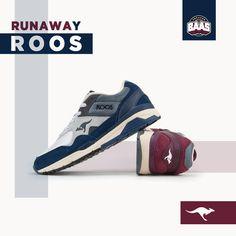 Kangaroos Runaway Roos | Now online! | www.sneakerbaas.nl | #BaasBovenBaas #kangaroos #Runaway #roos