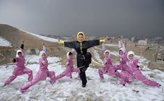 Stunning Photos Of Afghan Hazara Girls Train In Shaolin Martial Arts For Competitions