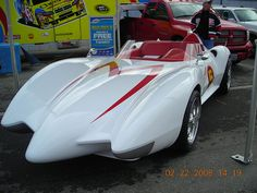 Mach 5.... I loved watching that cartoon before I went to school!!!