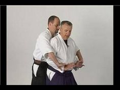 ▶ Aikido Basics: Wrist Lock Twist : Aikido Sankyo Rear Wrist Grab Defense - YouTube