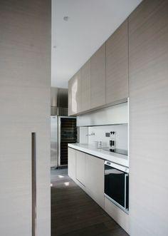 Bespoke kitchen, Champ de Mars Apartment in Paris by Guillaume Terver & Christophe Delcourt _