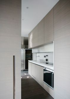Bespoke kitchen, Champ de Mars Apartment in Paris by Guillaume Terver & Christophe Delcourt _
