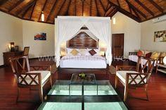 Robinson Club, Isole Maldive overwater villa camera da letto 2
