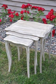 French nesting tables