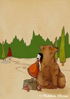 He says he can hear the Forest whisper  Print   by HidenSeek, $9.90