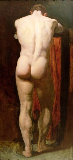 Standing Male Nude (C19)        William Etty