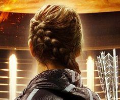 Learn Katniss Everdeen's Diagonal-Dutch Braid here in only 5 minutes!  {Hunger Games Hairstyles}