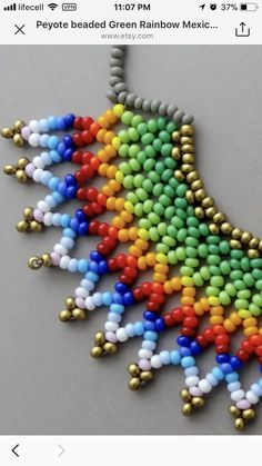 Beaded Earrings Patterns, Beaded Choker, Jewelry Patterns, Beaded Bracelets, Necklaces, Seed Bead Jewelry, Bead Jewellery, Seed Beads, Craft Accessories