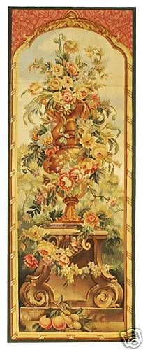 """43/"""" WALL JACQUARD WOVEN TAPESTRY Sunflowers Bouquet FLORAL EURO YELLOW PICTURE"""