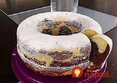 Marble cake with sour cream 1 kuchen ostern rezepte torten cakes desserts recipes baking baking baking Pound Cake Recipes, Easy Cake Recipes, Drink Recipes, German Baking, Sour Cream Cake, Marble Cake, Food Cakes, Baking Cakes, Cakes And More
