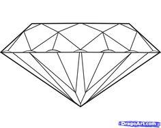 как нарисовать граненый кристалл - Поиск в Google