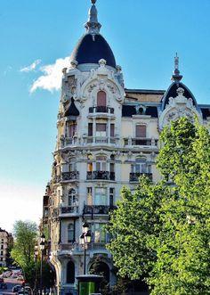 Casa Gallardo en la plaza de España en Madrid