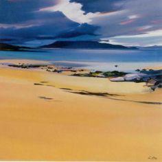 Niabost Sands, Harris Art Print by Pam Carter - WorldGallery.co.uk
