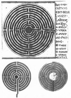 I love a labyrinth - if there's space would love one in the yard