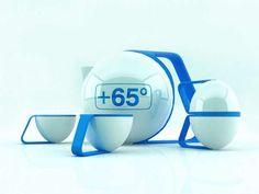 The Kochurov Evgenii Modern Teapot Concept Makes Brewing More Efficient #tea trendhunter.com