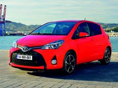 Revamped #Toyota #Yaris sports new 'facial hair' for 2014.