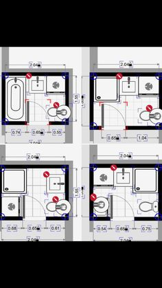 63 Best 5x7 bathroom layout images