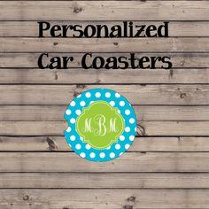 Custom Car Coasters | Cup Holder Coaster | Personalized Gift | Bridesmaid Gift | Car Decor | Mongram Car Decor  #CarCoaster #MonogramCarCoaster #StoneCoasters #CupHolderCoasters #CarDecor #MonogramCarDecor #CarCupHolder #CupHolderCoaster #CarCoasters #CarAccessories