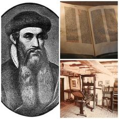 JOHANNES GUTENBERG In1438,Johannes Gutenberga goldsmith and bussinessman from the minning town of Mainz in Southern Germany ,borrowed som...