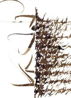 Asemic Calligraphy Michel d'Anastasio