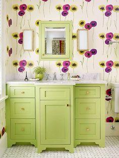 Különleges, extrém, de csodaszép tapéta minták fürdőszobába