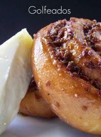Los Golfeados están rellenos de papelón y queso, aromatizados con anís en especie, se enrollan en forma de caracola y se hornean. Acompañados de un trocito de queso 'e mano son una delicia inolvidable. www.correiodevenezuela.com